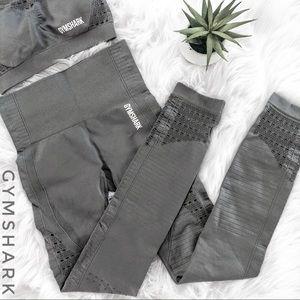 GYMSHARK Energy + Seamless Leggings Gray XS